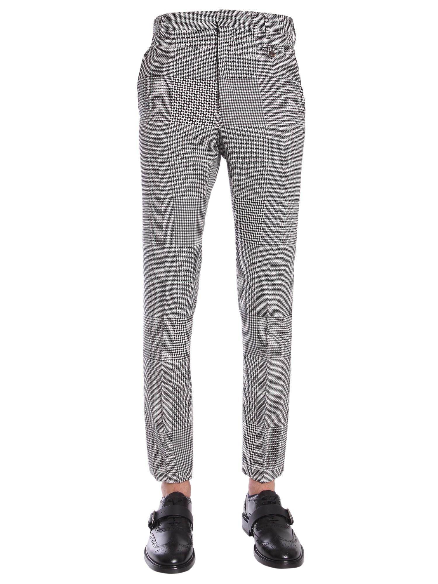 f4063af9c3 Lyst - Vivienne Westwood Classic Prince Of Wales Wool Trousers in ...