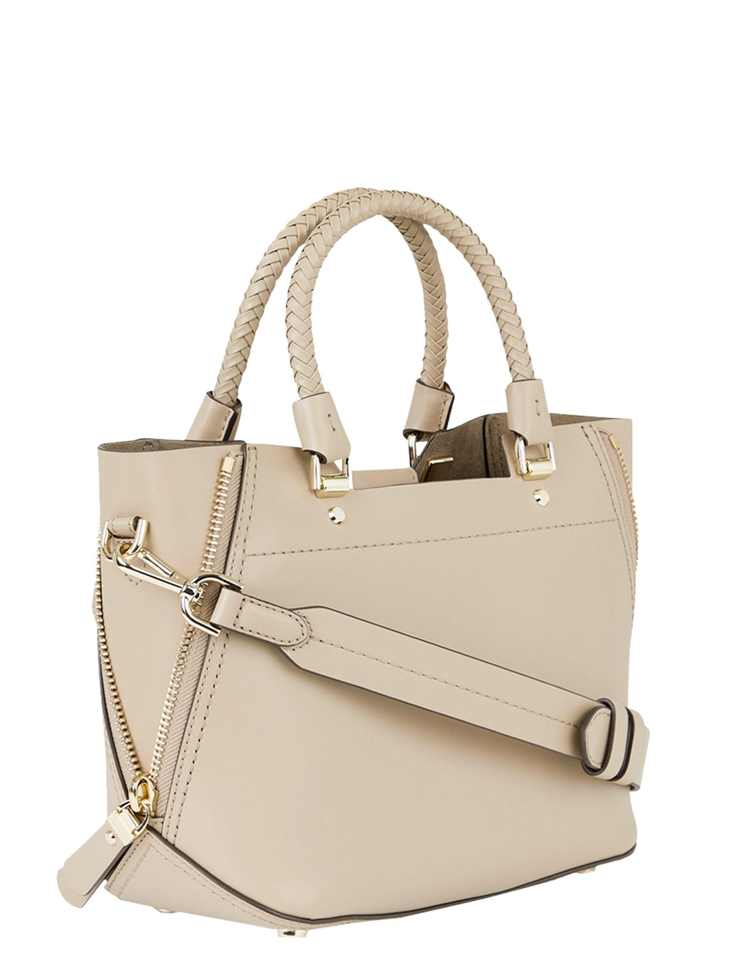 54ccc46f5c Lyst - MICHAEL Michael Kors Borsa A Mano Blakely In Pelle in Natural