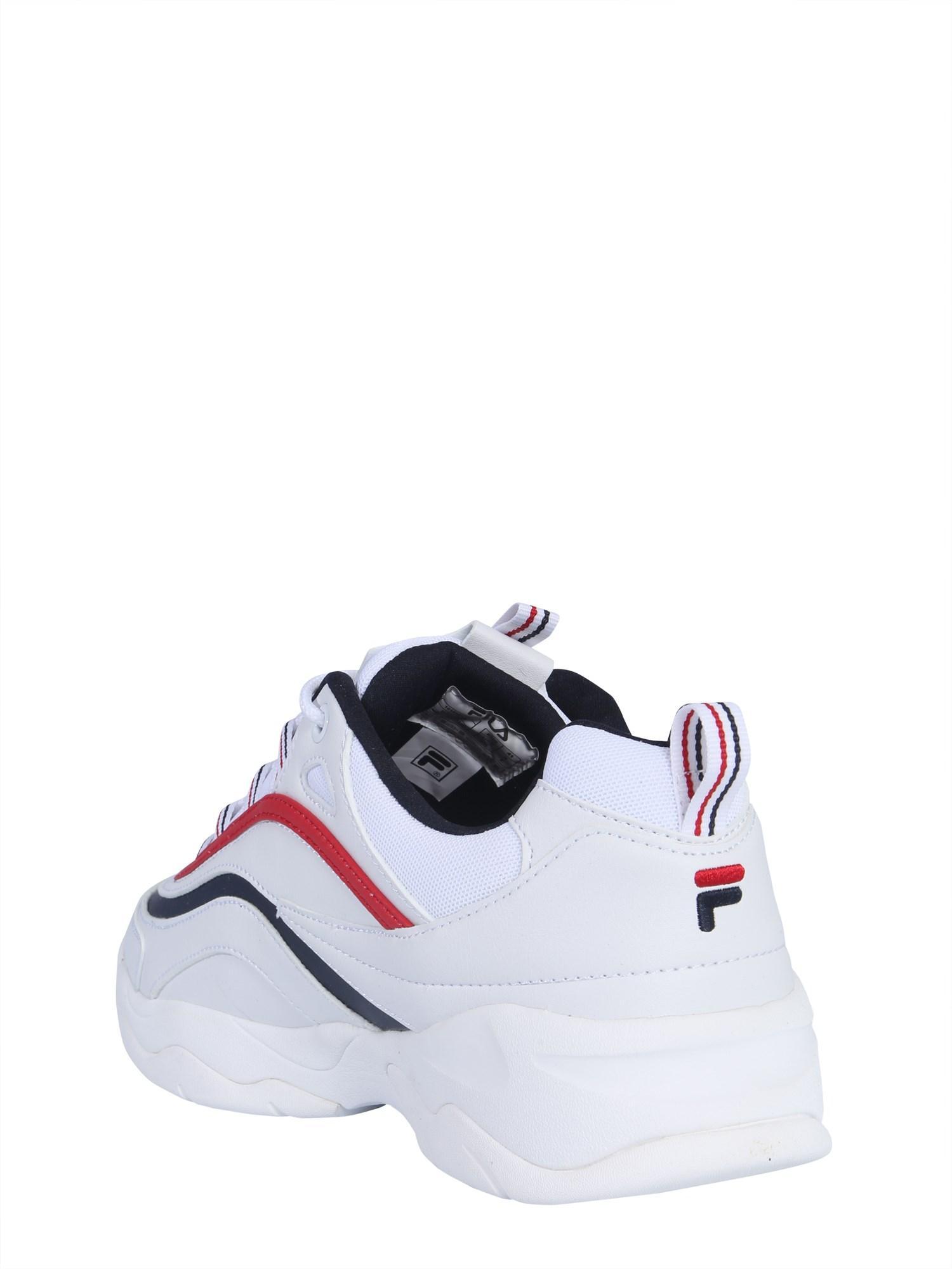 6556ec9162d2 Fila Sneaker Ray Low in White for Men - Lyst