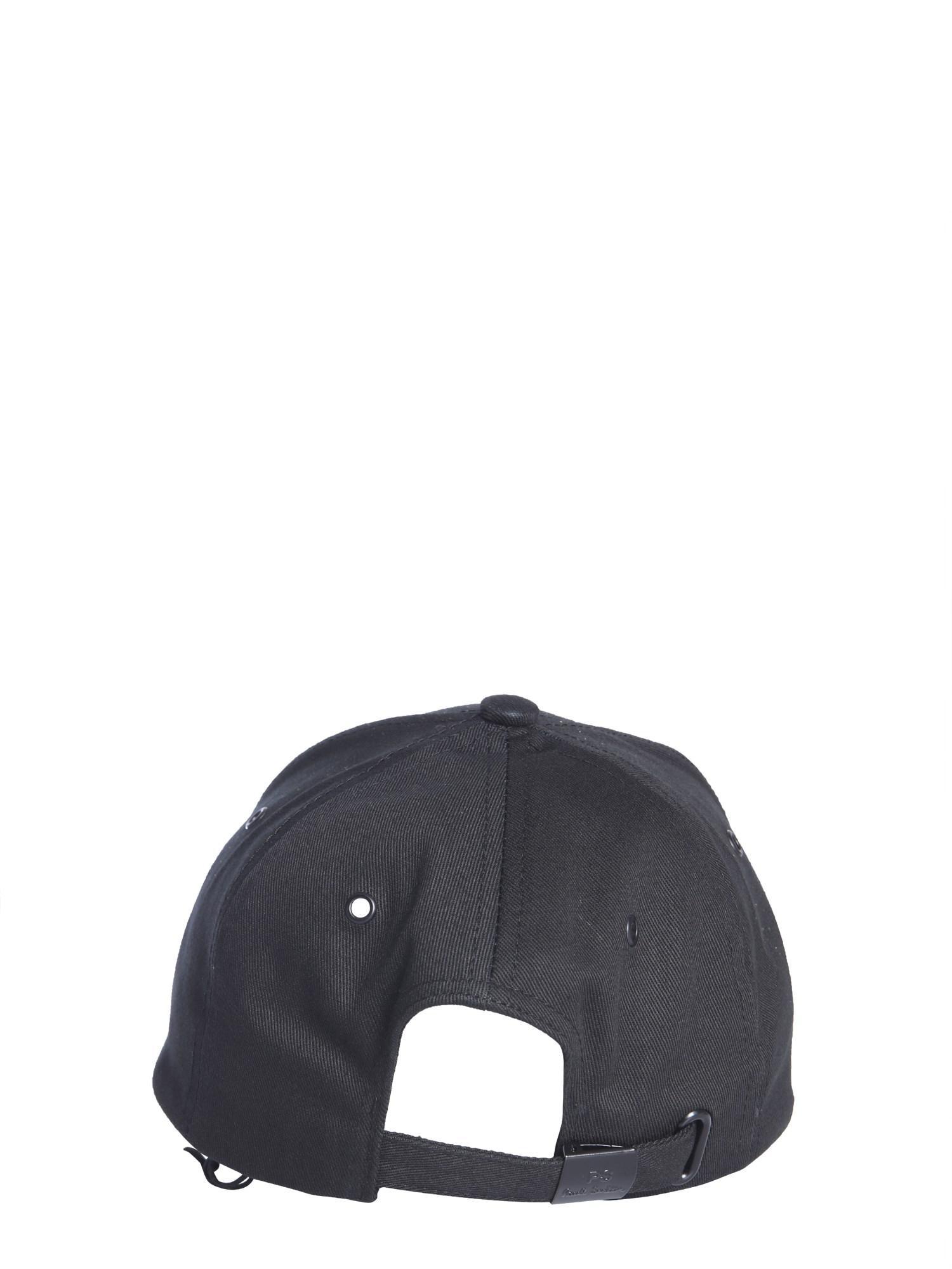 Ps By Paul Smith Cappello Da Baseball In Cotone in Black for Men - Lyst 8ad44ce57795