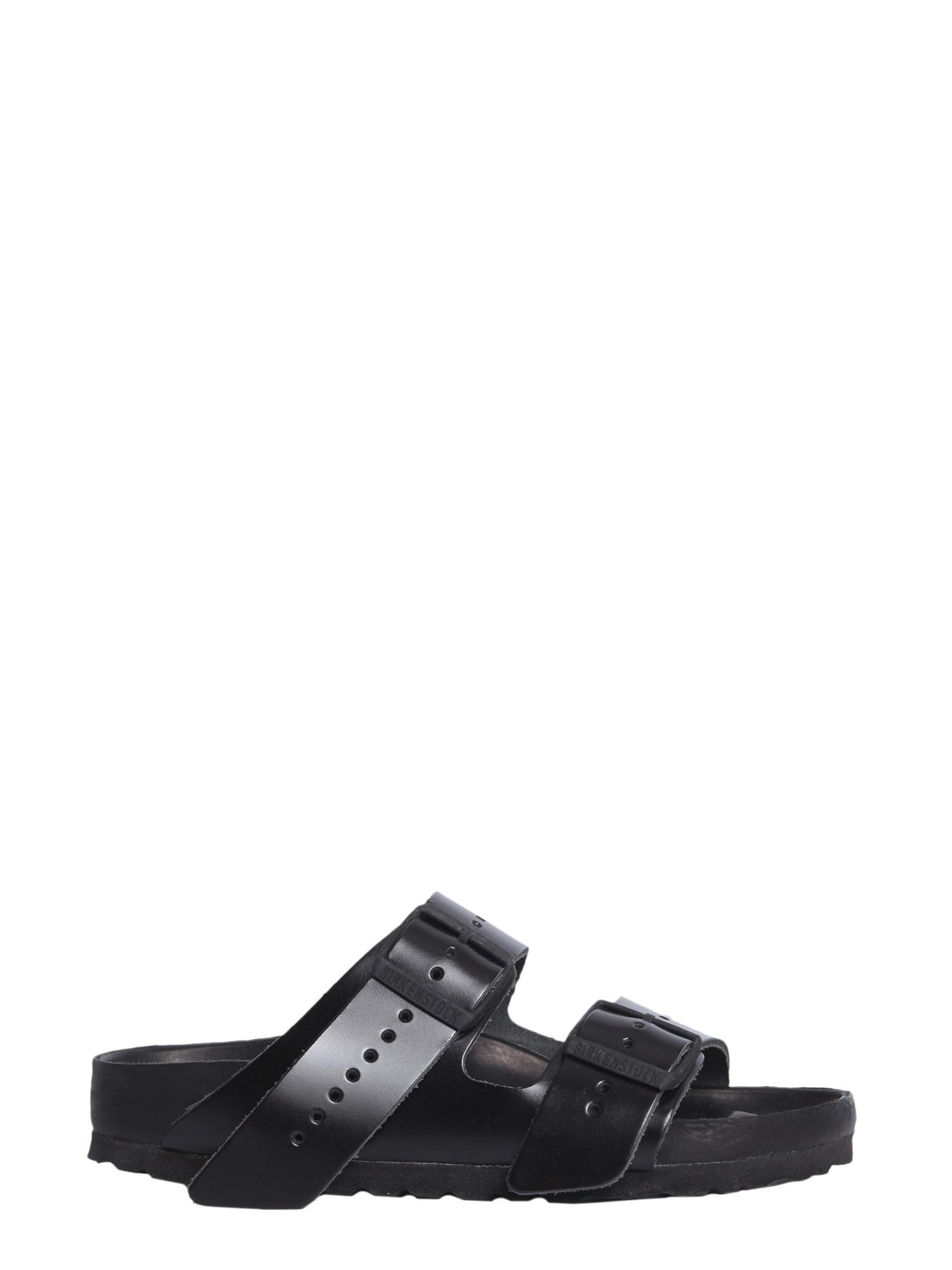 2a1d437995 Rick Owens Black Birkenstock Edition Leather Arizona Sandals in ...