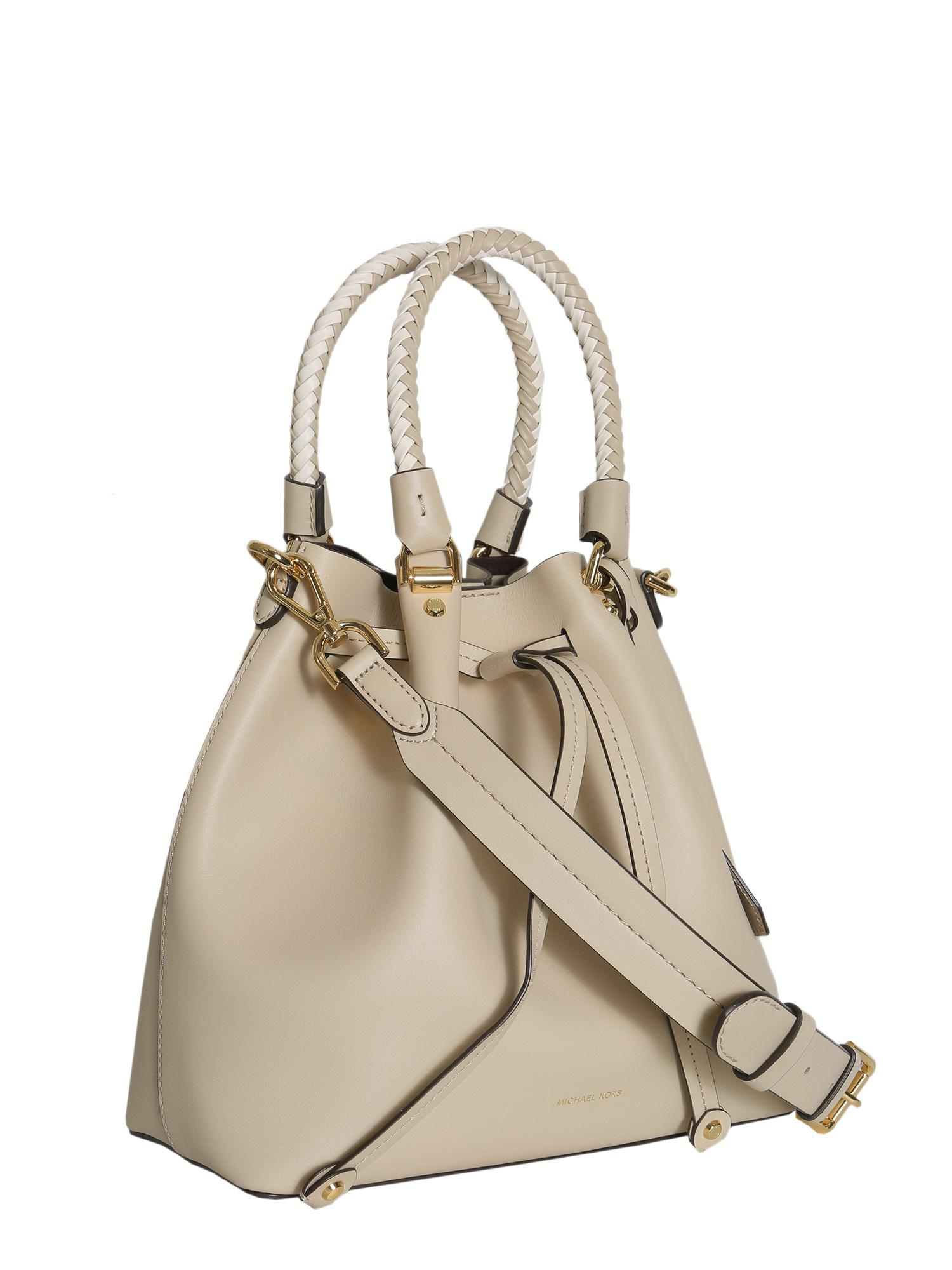 8fb32964fba1 MICHAEL Michael Kors Blakely Medium Leather Bucket Bag - Lyst