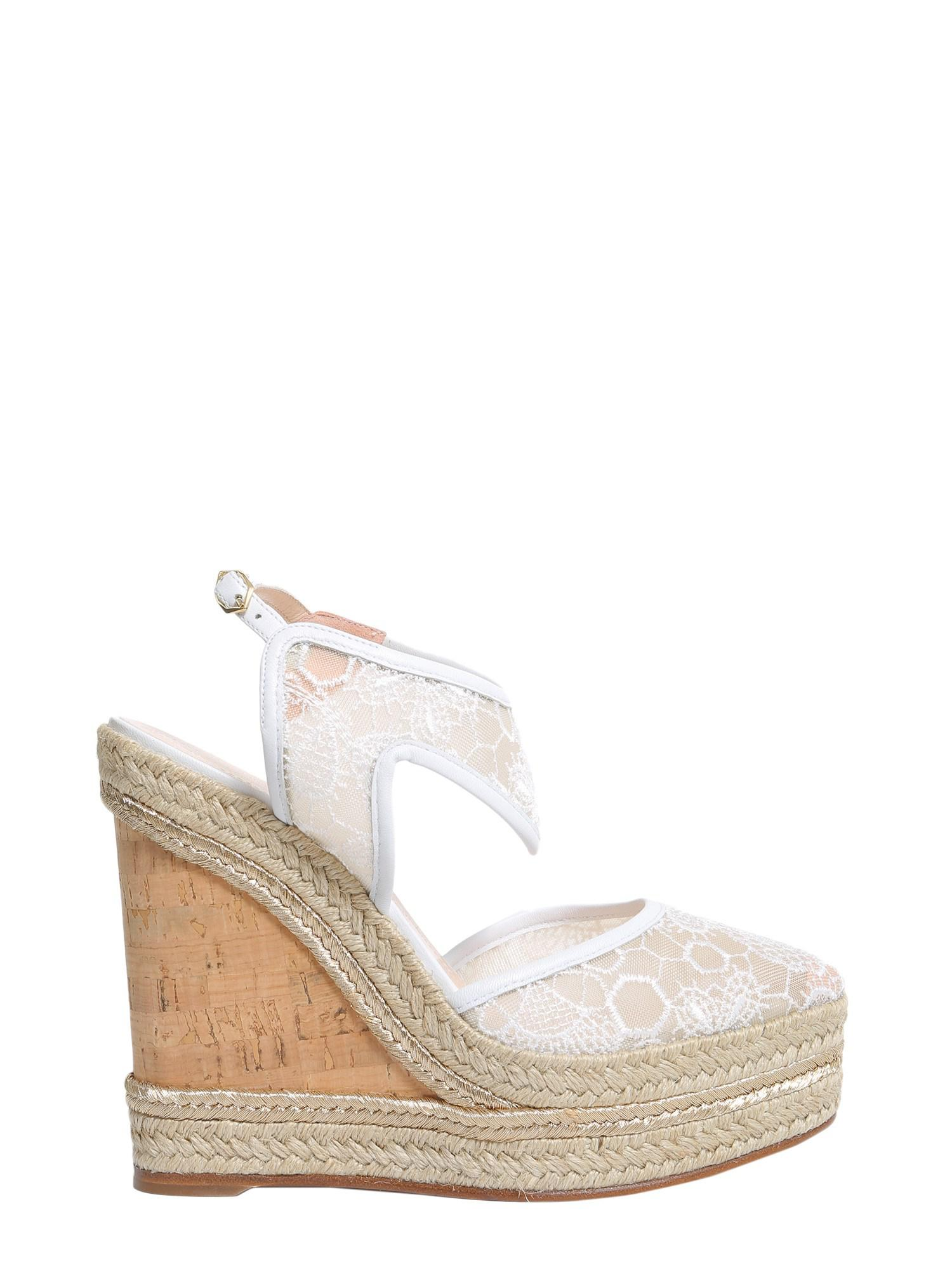 Nicholas Kirkwood Embellished Wedge Sandals free shipping nicekicks sale fast delivery shop online discount clearance buy cheap best place nl58kQ