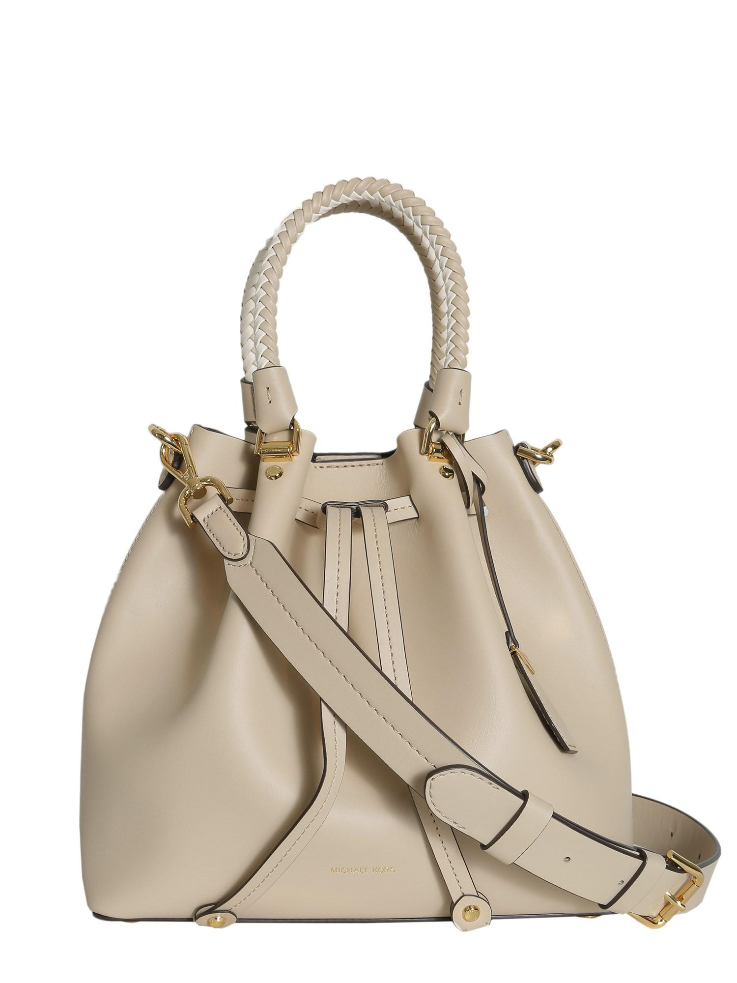 9c408c4851 Lyst - MICHAEL Michael Kors Blakely Medium Leather Bucket Bag