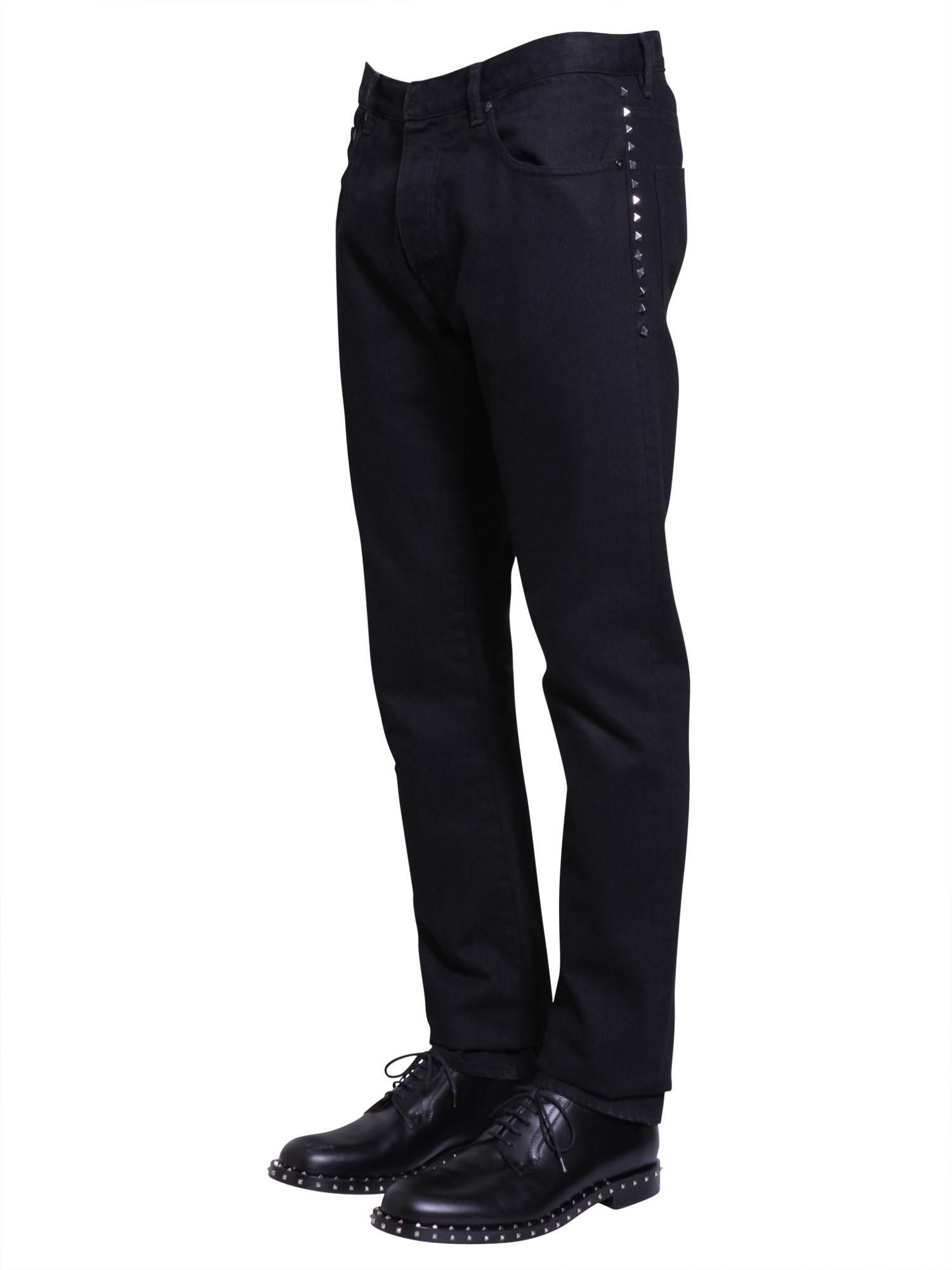 Chinos black Valentino Buy Cheap Cheap Looking For Marketable Sale Online Clearance Wide Range Of From China Free Shipping ajQOrftd