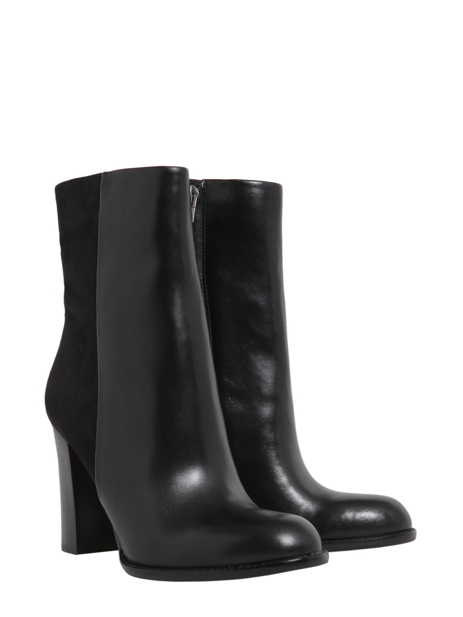 7d2d6cb81 Lyst - Sam Edelman Reyes Leather Boots in Black