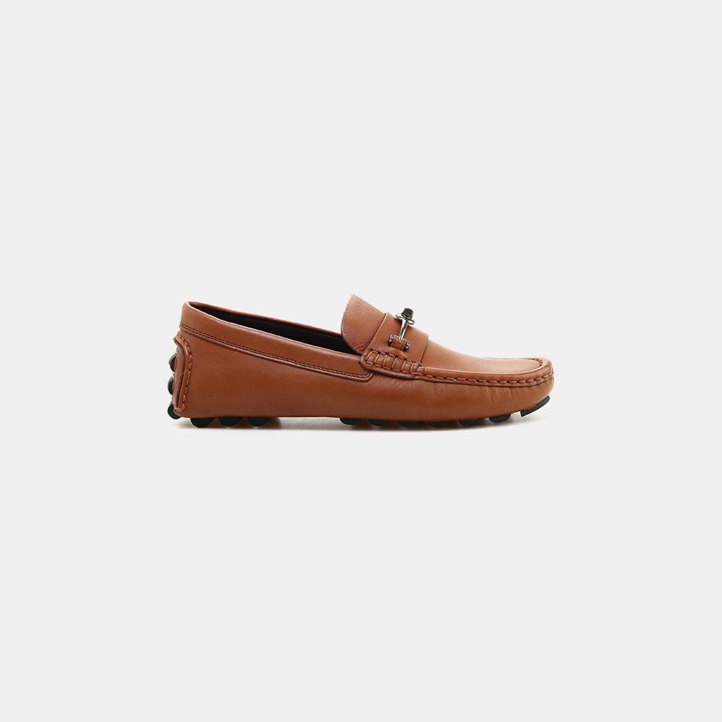 7c64fab8a7a Lyst - COACH Crosby Turnlock Driver in Brown for Men - Save 30%