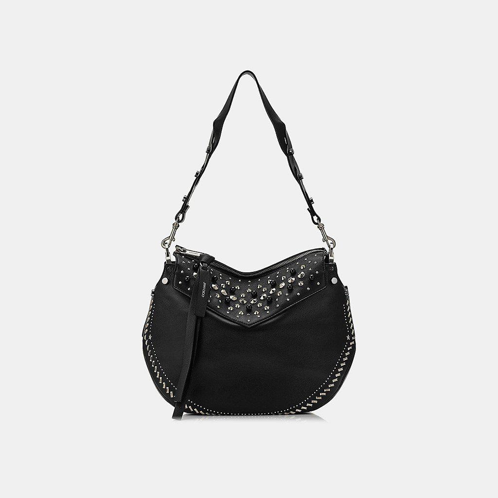 bed0a80720a4e Lyst - Jimmy Choo Artie Nappa Leather Shoulder Bag in Black