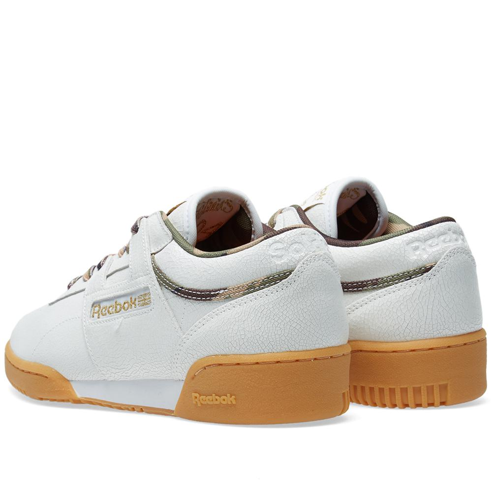 42aa73e99de Reebok X Sneaker Politics Workout Lo Clean in White - Lyst