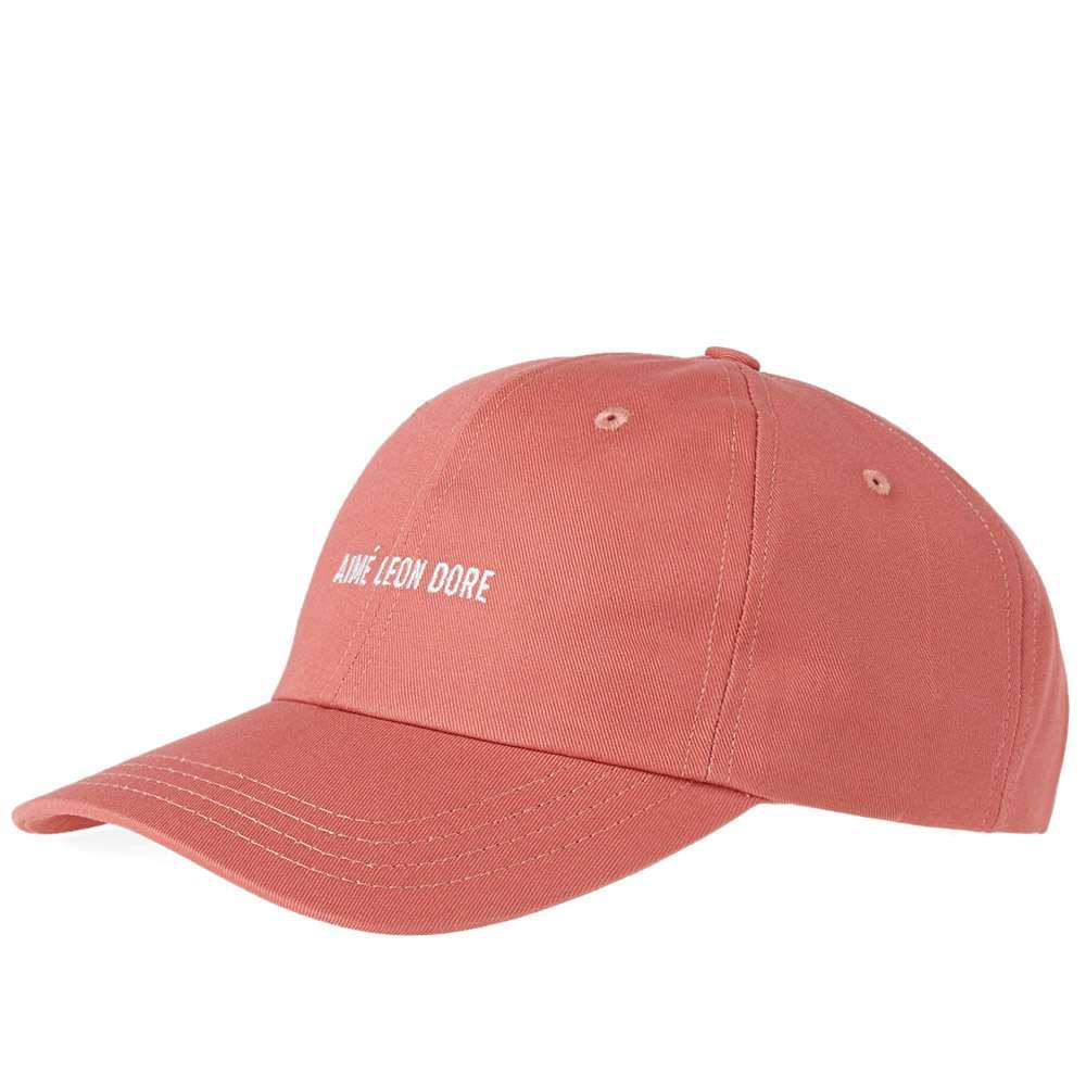 0e7778a774b57 Aimé Leon Dore Logo Cap in Pink for Men - Lyst