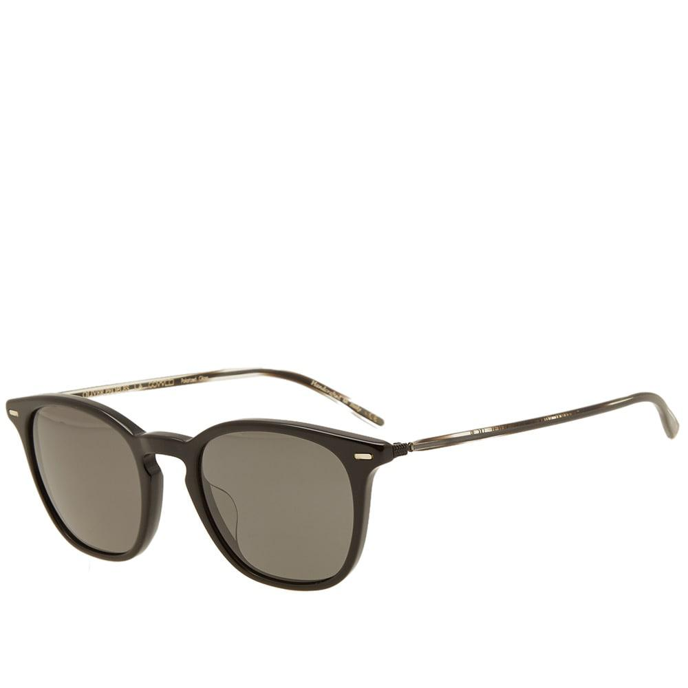 Oliver Peoples Heaton Sunglasses in Black for Men - Lyst