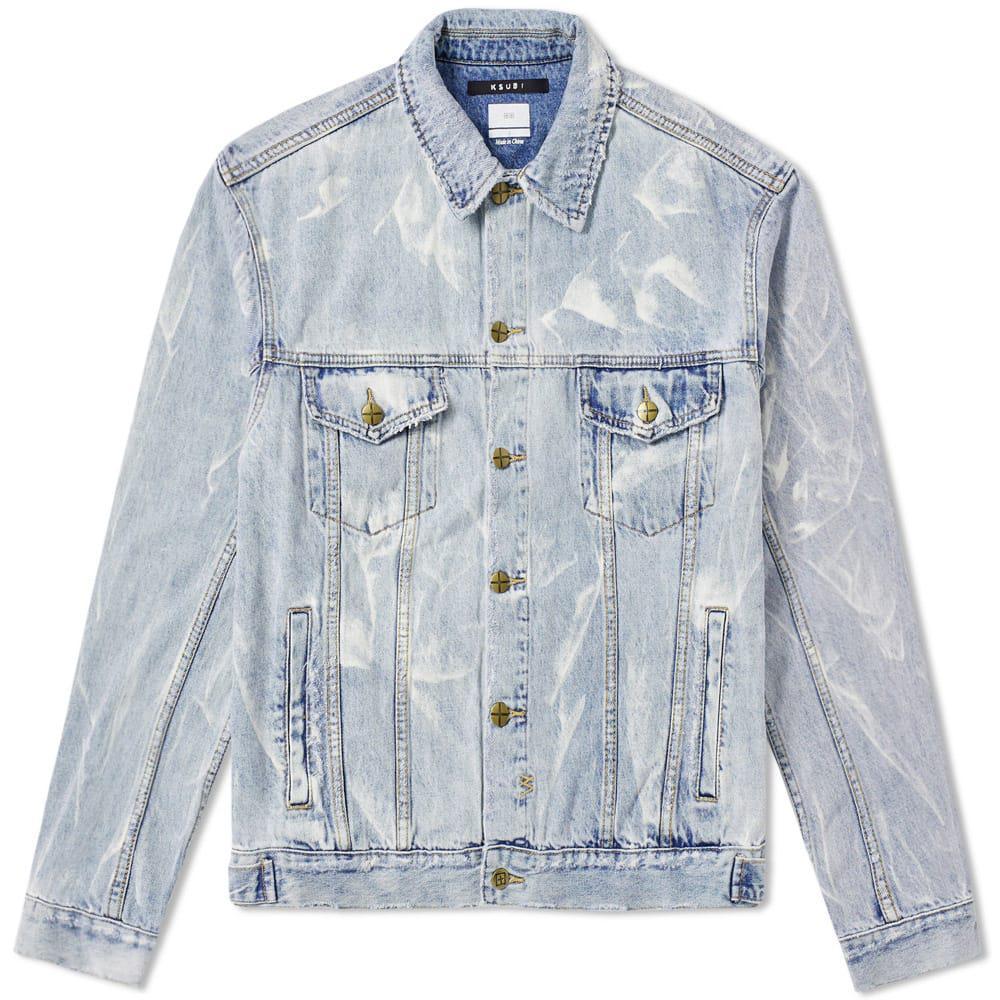 001614b83a Lyst - Ksubi Oh G Denim Jacket in Blue for Men