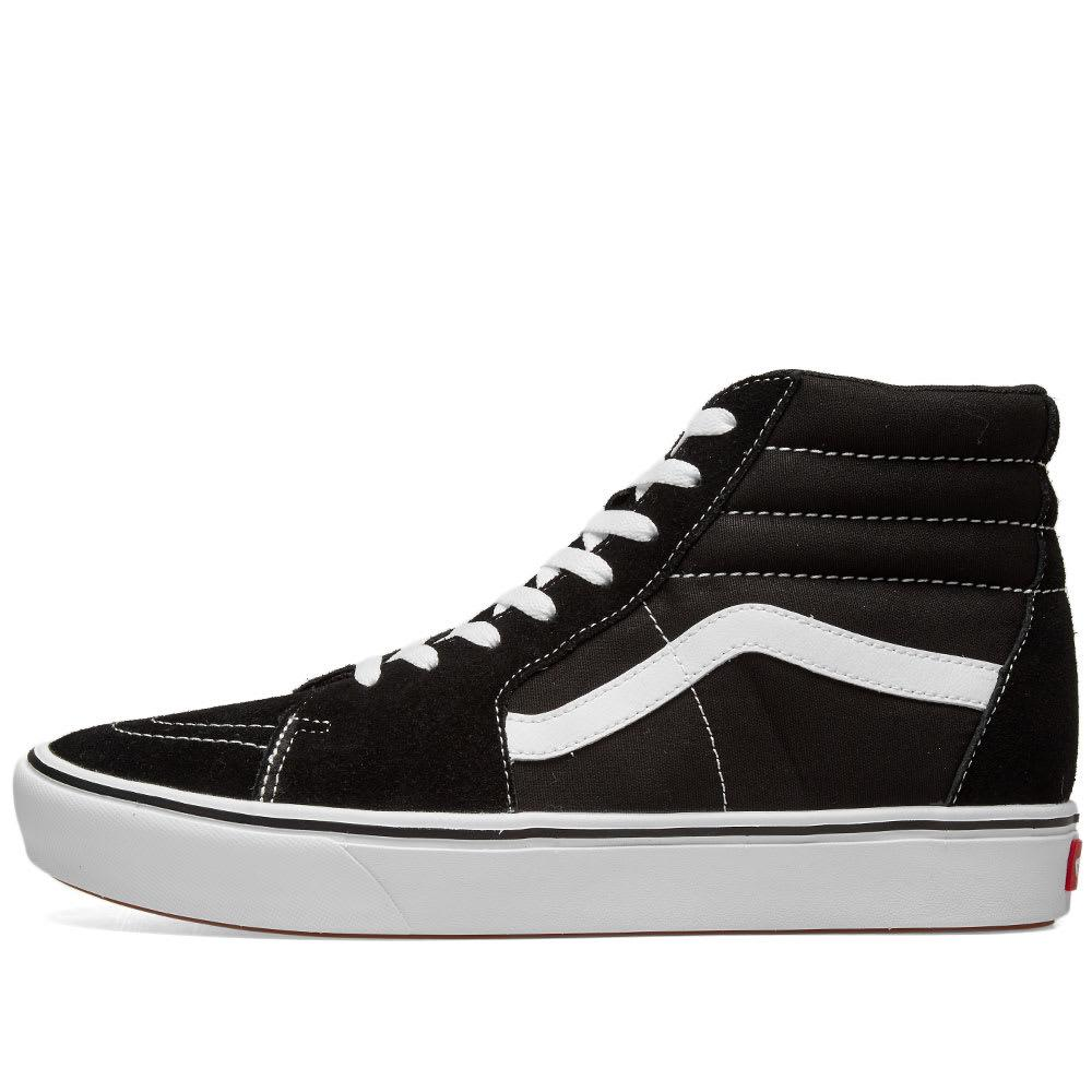 959cd73325a Vans - Black Ua Comfycush Sk8-hi for Men - Lyst. View fullscreen