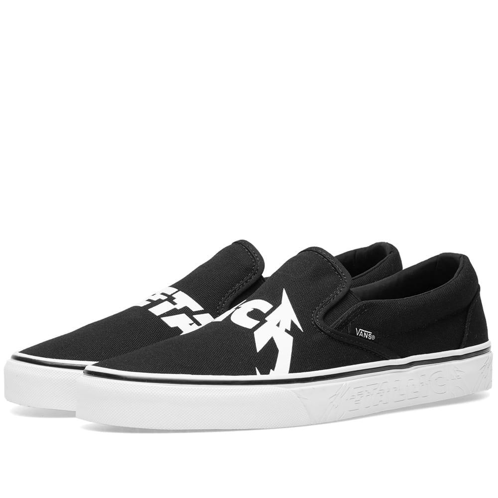 9e790a928a Lyst - Vans X Metallica Classic Slip-on in Black for Men