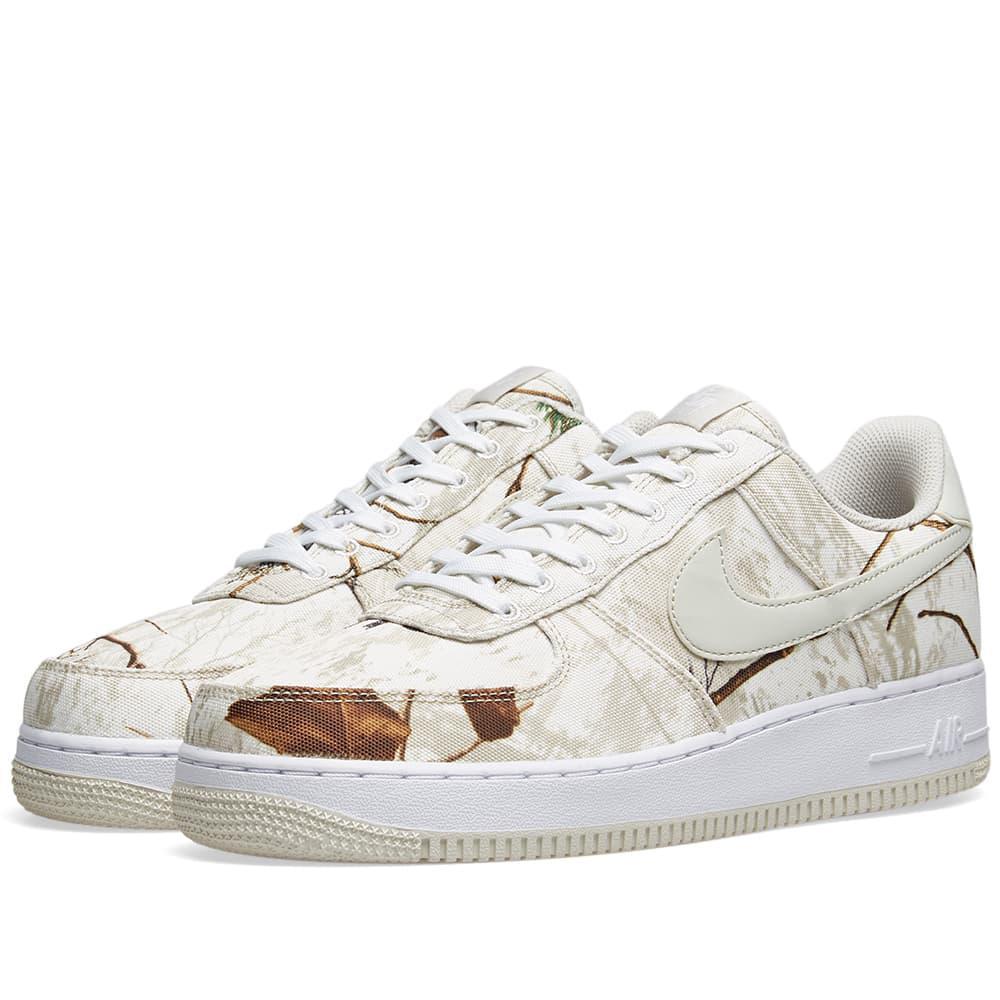 size 40 8332e 60f88 Nike. Men s White Air Force 1  07 Lv8 3  realtree ...