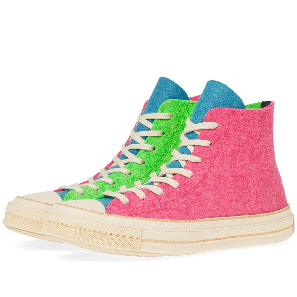 Lyst Jw For Men Hi Chuck Pink In Anderson 70's Felt Taylor Converse X Cpnw1