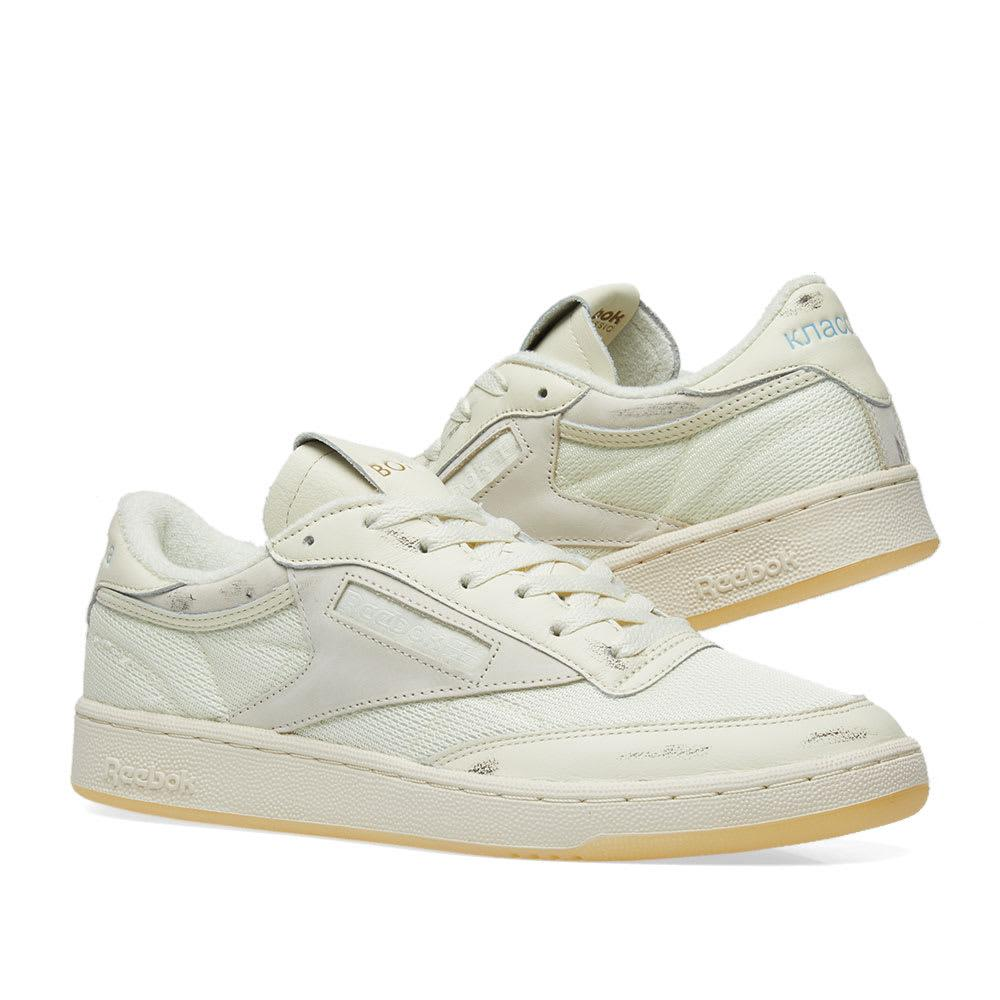 252603e090a Lyst - Reebok X Walk Of Shame Club C 85 in White for Men