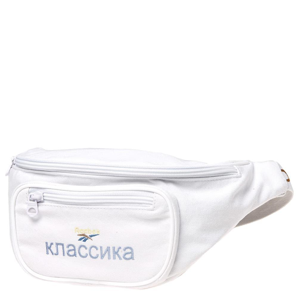 e4e4cf463f7 Lyst - Reebok X Walk Of Shame Waist Bag in White for Men