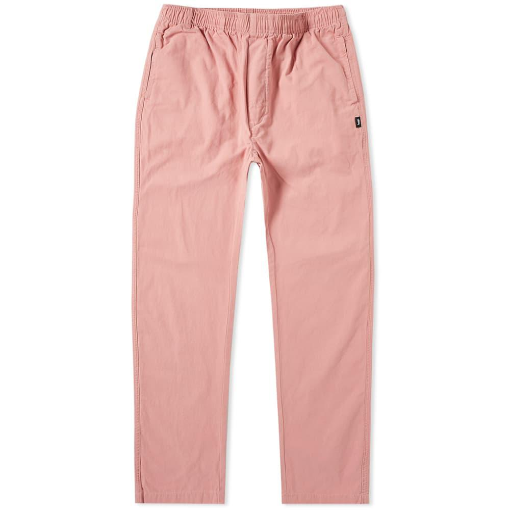 6a851c54c7 Stussy Brushed Beach Pant in Pink for Men - Lyst