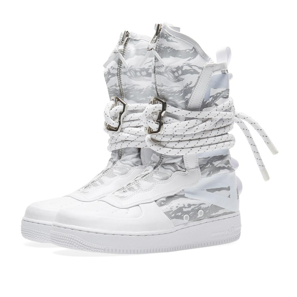 best service c6f58 dafb0 Lyst - Nike Sf Air Force 1 Hi Ibex in White