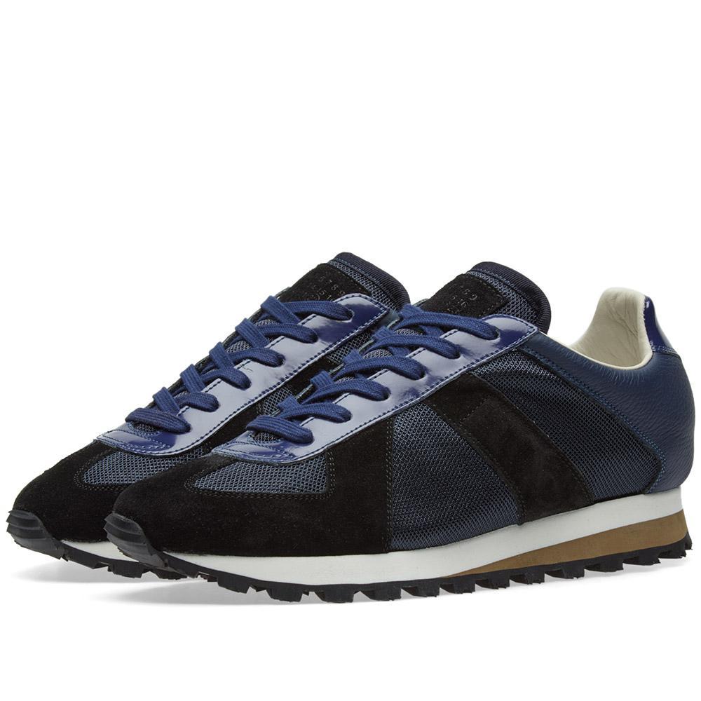Maison margiela 22 retro runner in blue for men lyst for Maison margiela 22