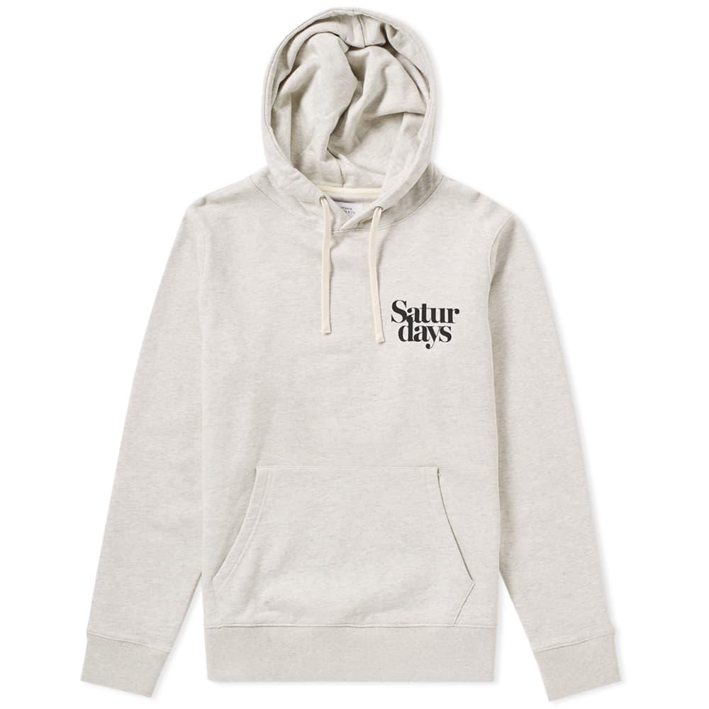 Grey Ditch Miller Logo Hoodie Saturdays Surf NYC Footlocker Sale Online Cheap 100% Guaranteed Ebay Sale Online Browse Clearance Low Shipping OgtRdO
