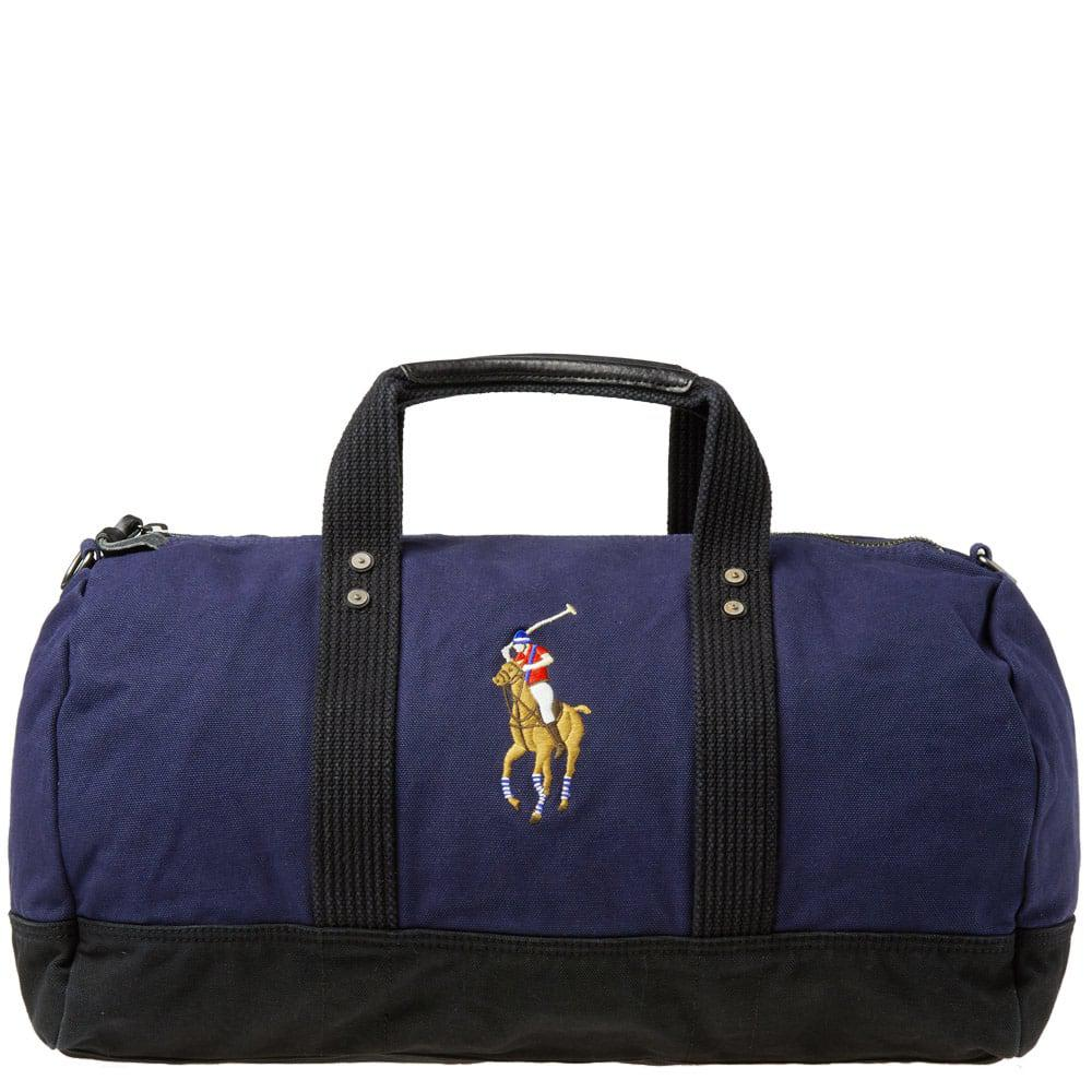 Polo Ralph Lauren Polo Player Canvas Duffle Bag in Blue for Men - Lyst f012c648d0e73