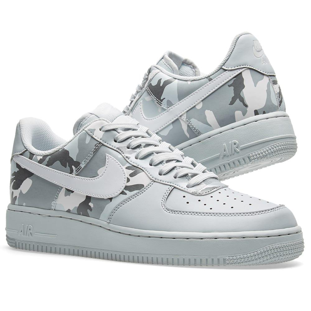 separation shoes 6eecd e8d68 Lyst - Nike Air Force 1 07 Lv8 Half Camo in Gray for Men