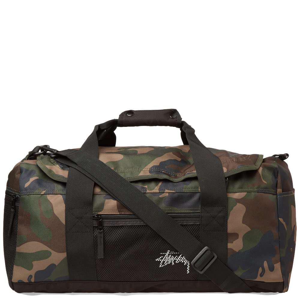Stussy Stock Duffle Bag in Green for Men - Lyst 11dadf7167