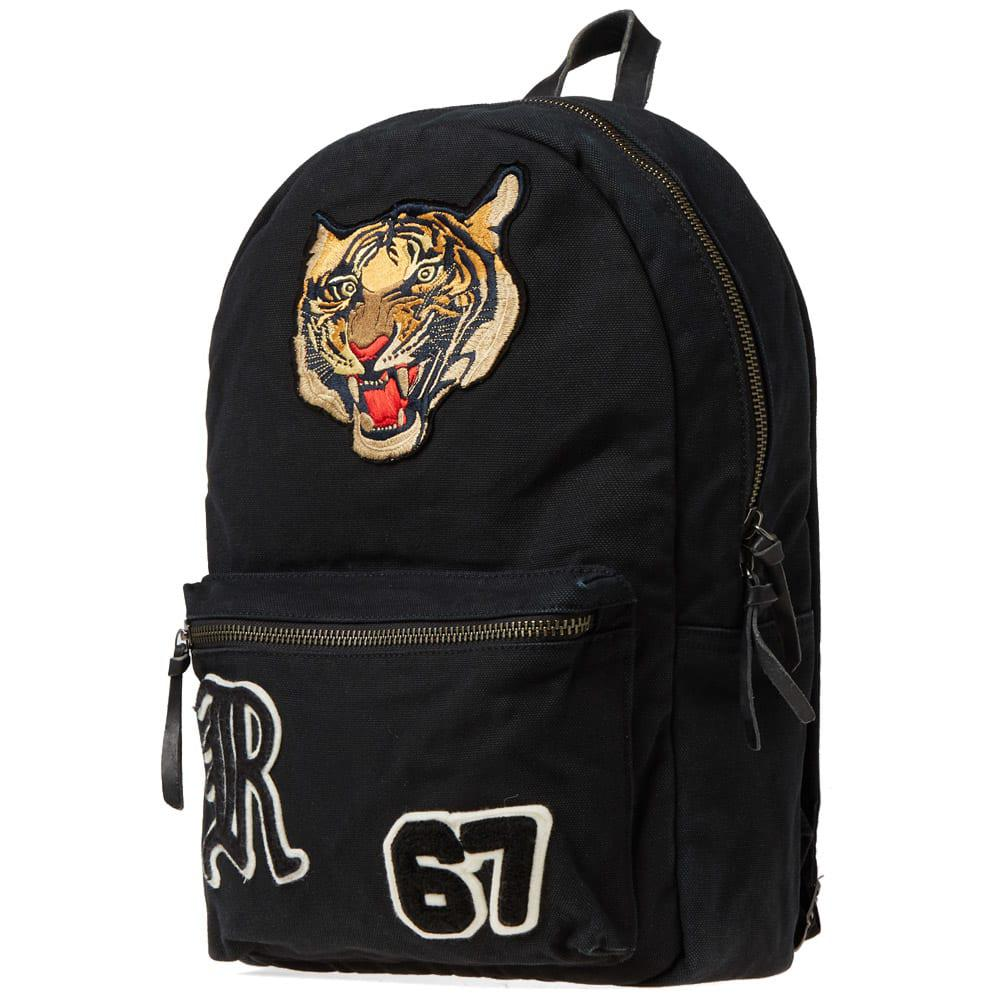 Polo Ralph Lauren - Black Tiger Embroidered Backpack for Men - Lyst. View  fullscreen 29b983640603c