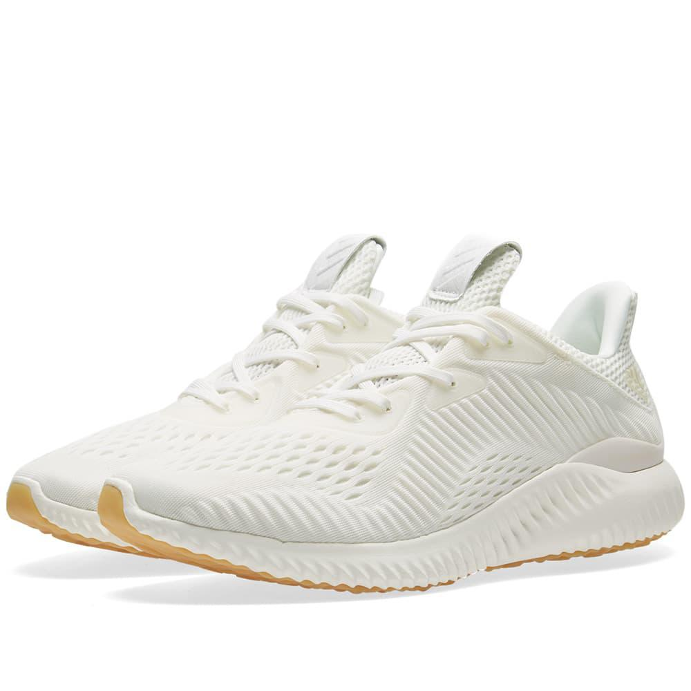 48714eae3927 Adidas Alphabounce Em Undye in White for Men - Save ...