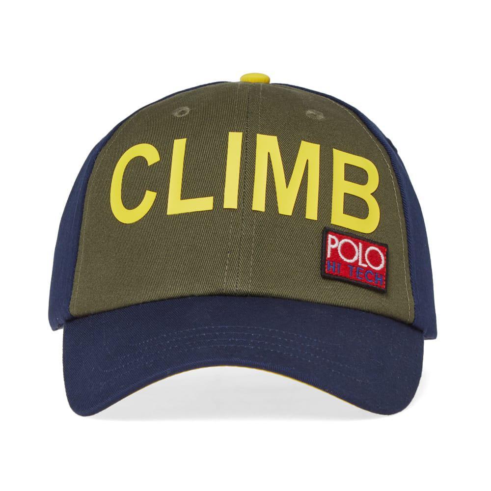 Lyst - Polo Ralph Lauren Hi-tech Trek Cap in Blue for Men ea8baf16248
