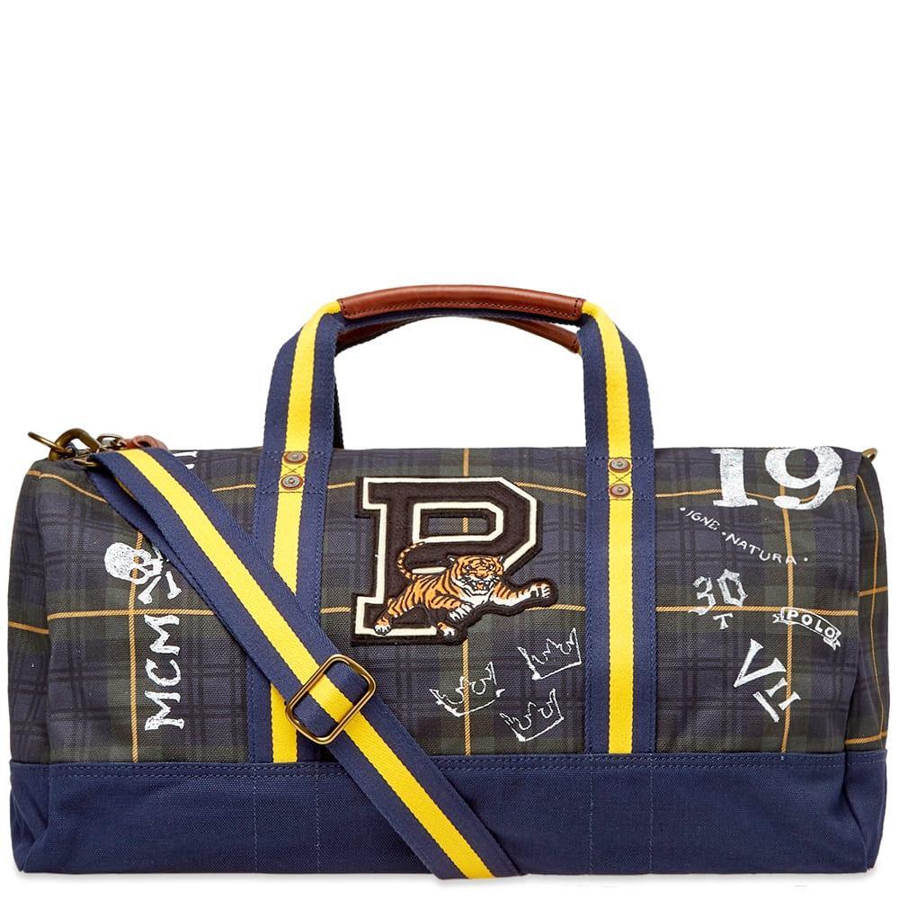Lyst - Polo Ralph Lauren Canvas Duffel Bag in Blue for Men - Save 8% dddc3823188c8