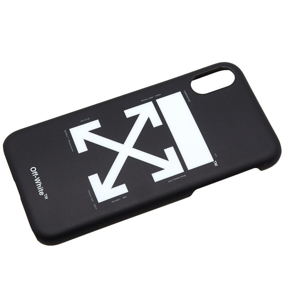 03ffd18a5439 Lyst - Off-White c o Virgil Abloh Arrows Iphone X Case in Black