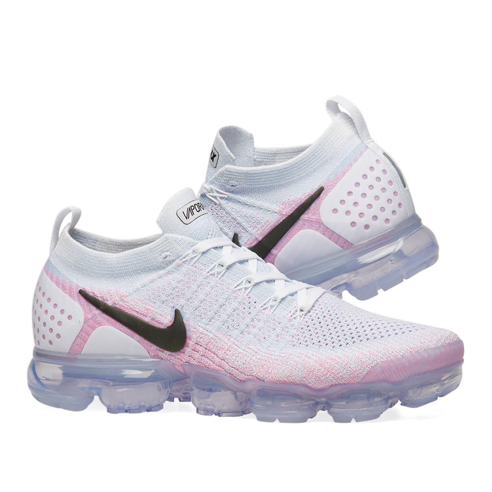 f5de54e13af4 Nike Air Vapormax Flyknit 2 in Pink for Men - Lyst