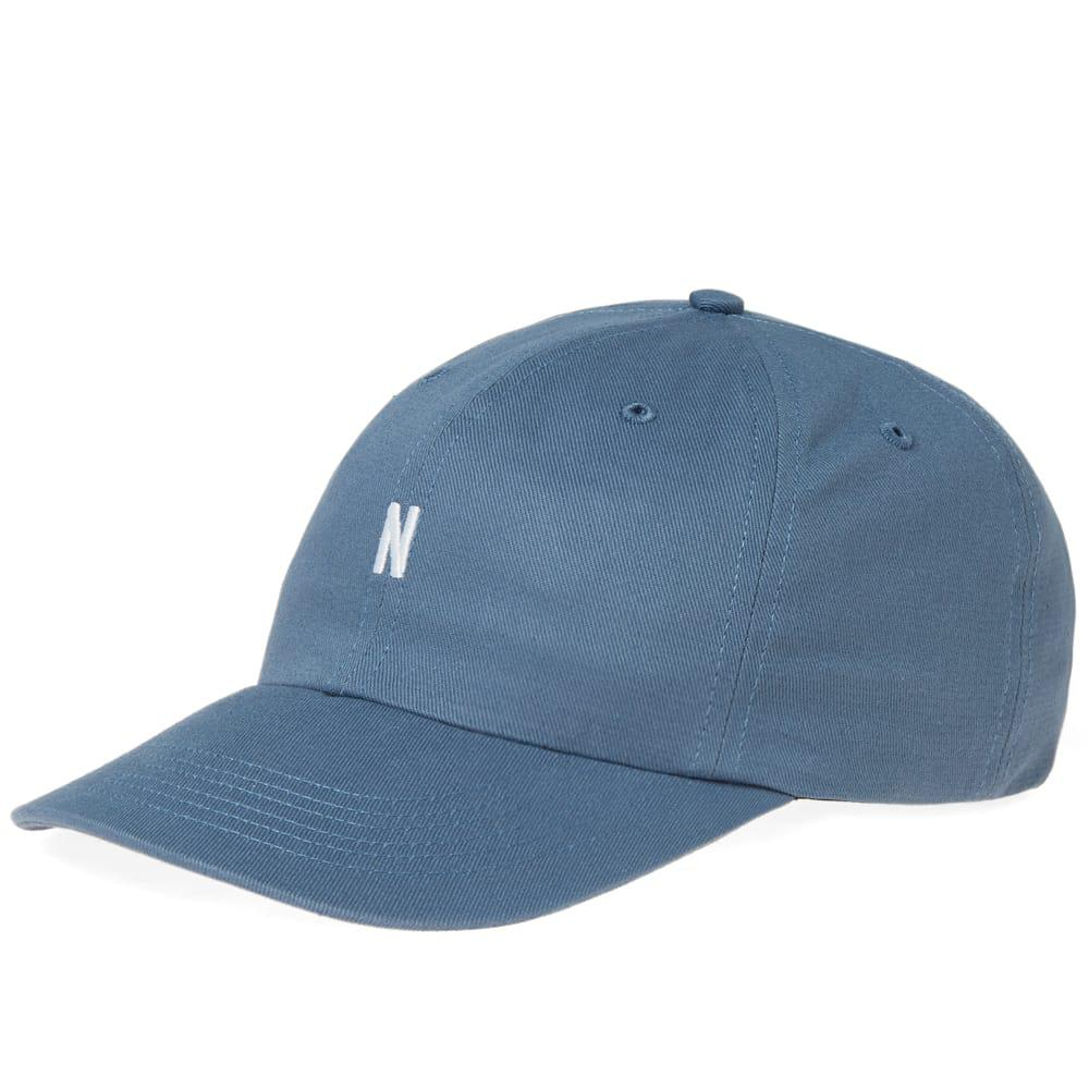 209044f5dcc Lyst - Norse Projects Light Twill Sports Cap in Blue for Men