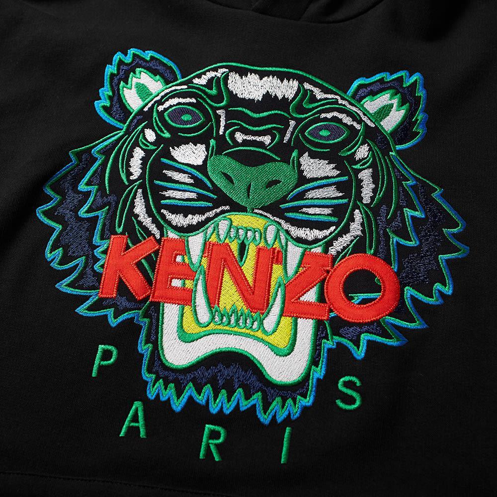 fa974388 KENZO - Black Tiger Popover Hoody for Men - Lyst. View fullscreen