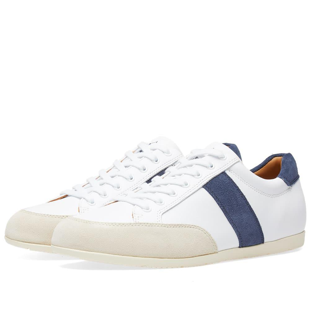 Lyst - Polo Ralph Lauren Price Stripe Tennis Sneaker in White for Men b41f433a99f