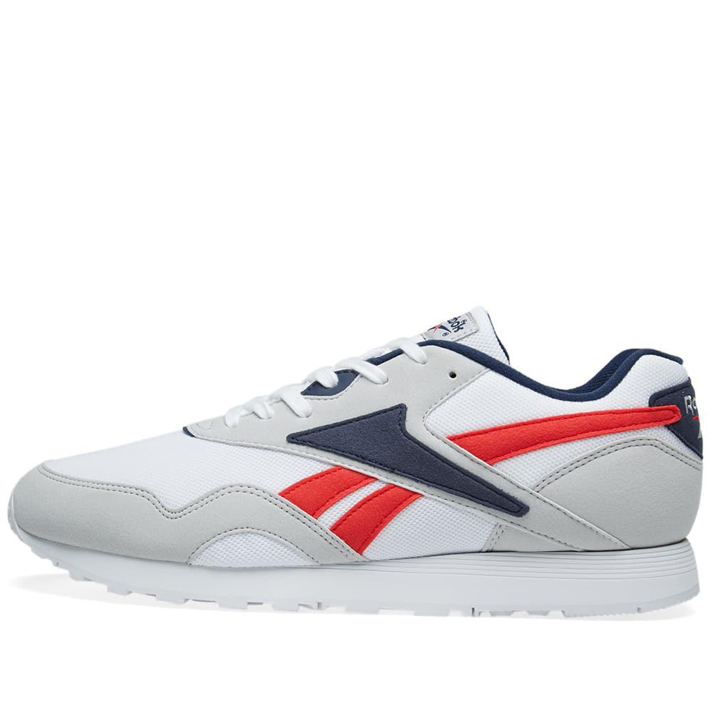 5bc029742c0 Lyst - Reebok Rapide Mu Sneakers in White for Men - Save ...