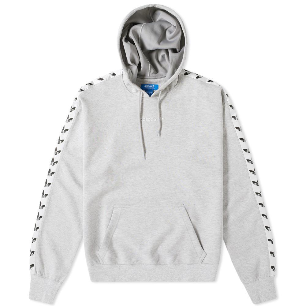 Adidas Originals Black And White Tnt Tape Sweatshirt | Saddha