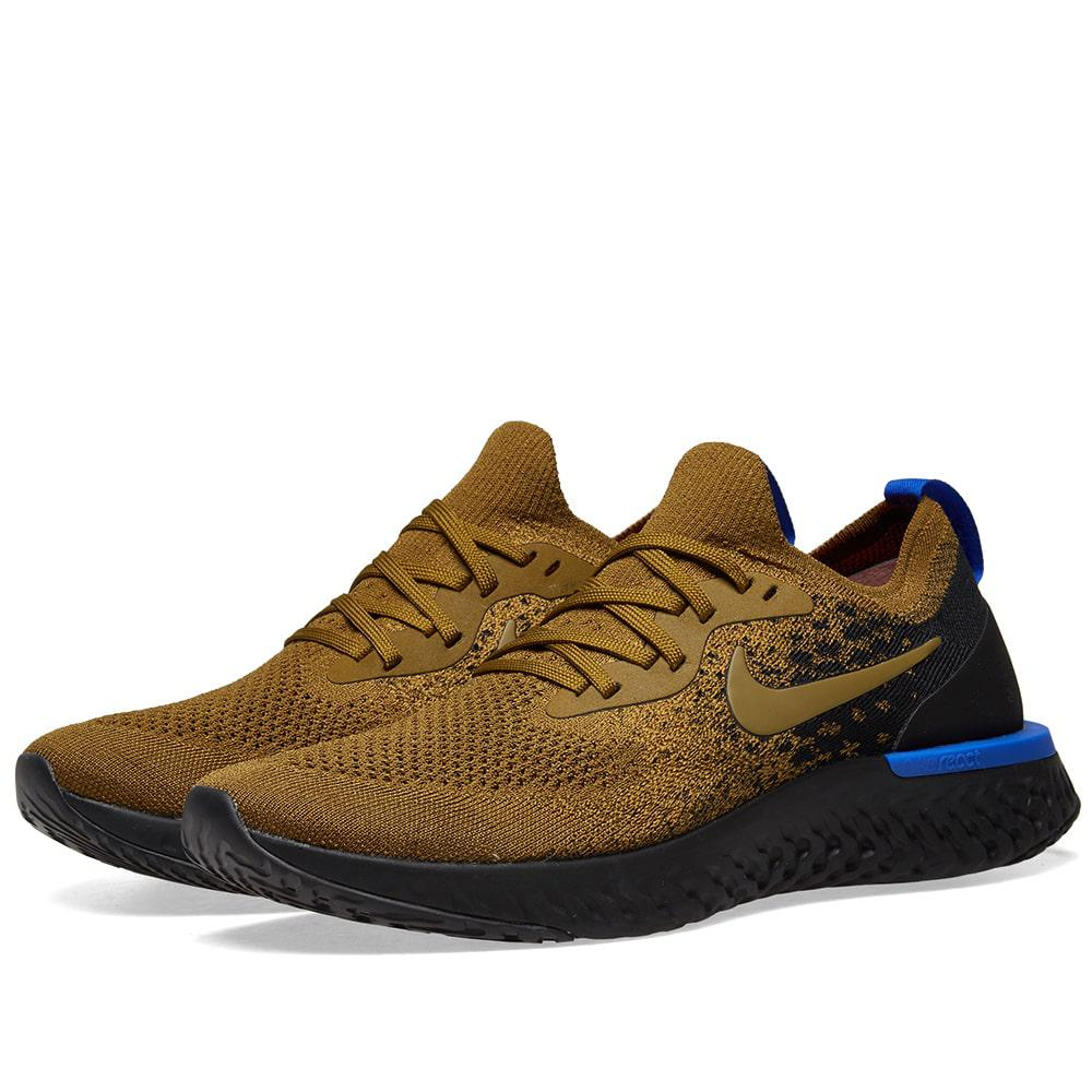 b6dbbde1bd0 Lyst - Nike Nike Epic React Flyknit in Green for Men - Save 54%