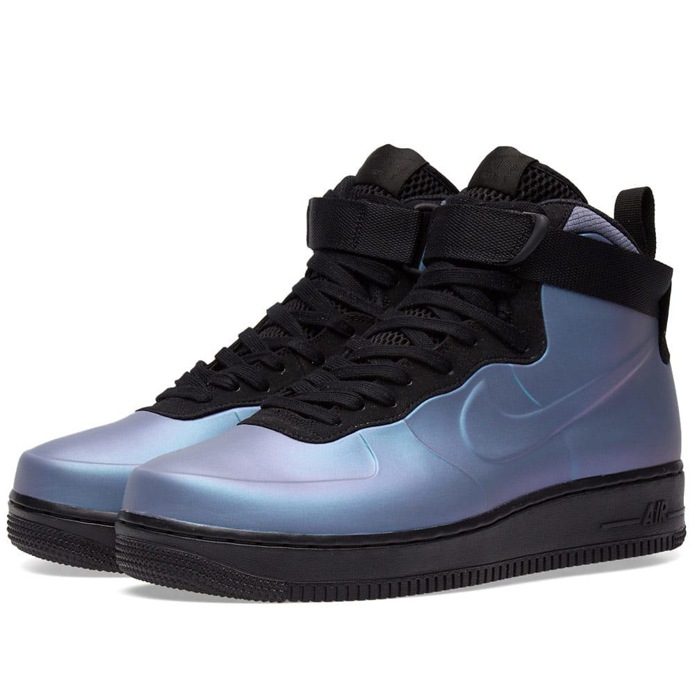 aaa185f85d8f5 Nike Air Force 1 Foamposite Cup in Blue for Men - Lyst