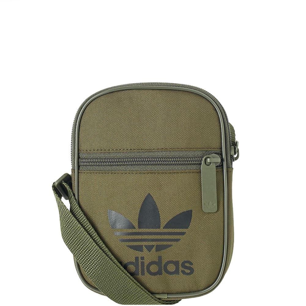 1d2a4260a042 Lyst - adidas Trefoil Festival Bag in Green for Men