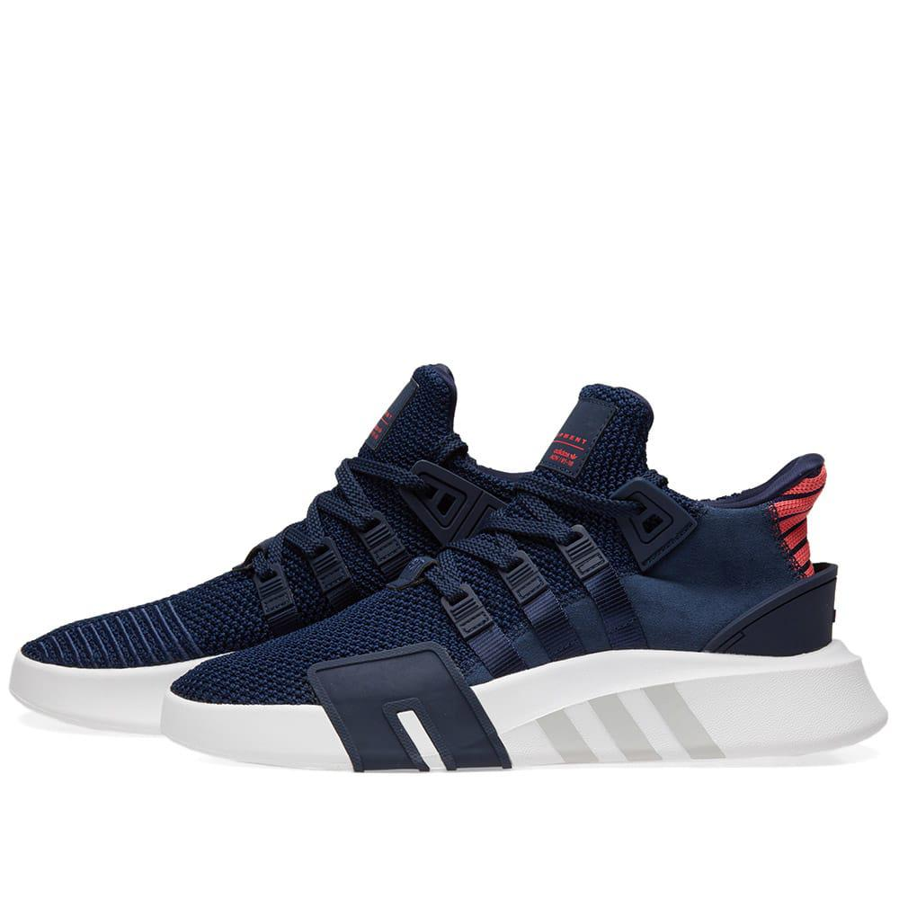 quality design 987a9 d6b48 Adidas Eqt Bask Adv in Blue for Men - Lyst