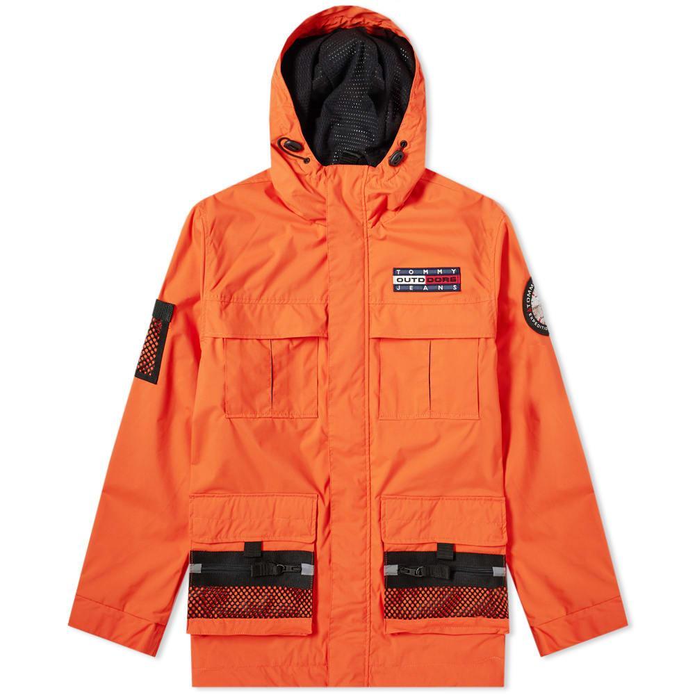76a77407 Tommy Hilfiger 6.0 Outdoors Jacket M8 in Orange for Men - Lyst