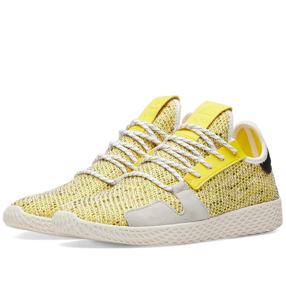 sale retailer c2e9f 560c5 adidas Originals. Men s Yellow Adidas Originals By Pharrell Williams Solarhu  Tennis V2