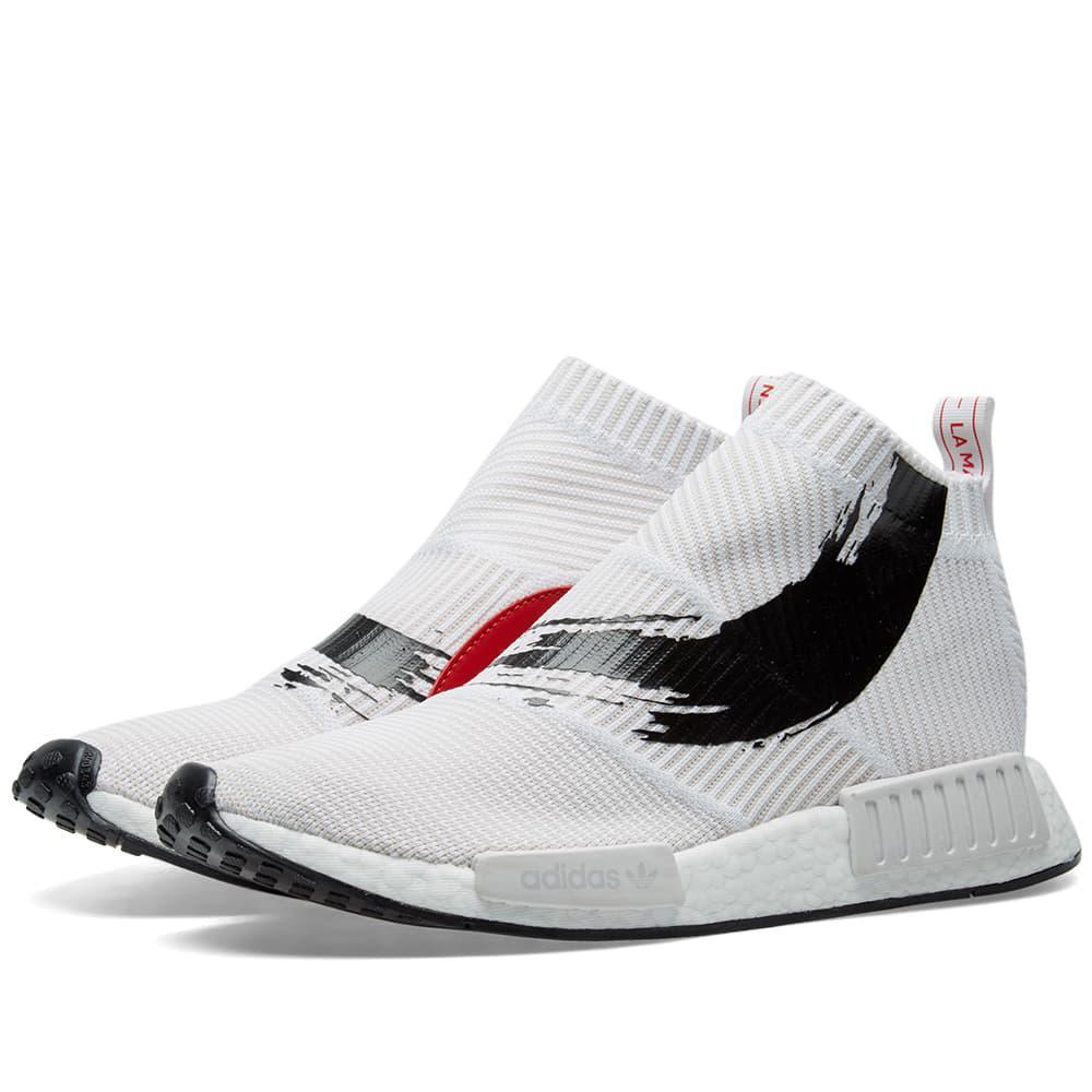 Lyst - adidas Energy Nmd cs1 Pk in White for Men 8fd6d557c