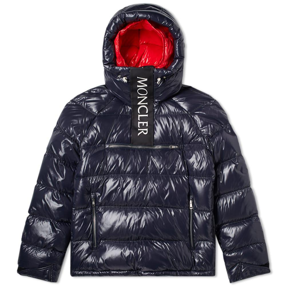 Lyst Moncler X Kith Lachat Hooded Jacket In Blue For Men
