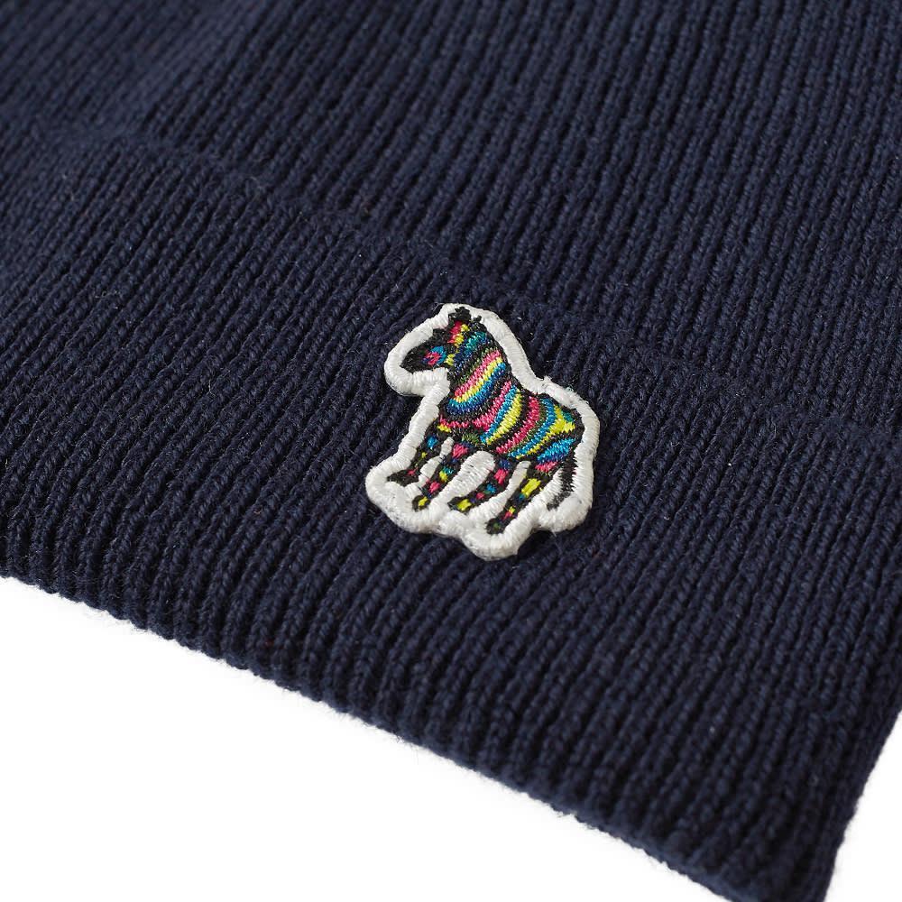 Paul Smith - Blue Zebra Beanie Hat for Men - Lyst. View fullscreen adebb472205c