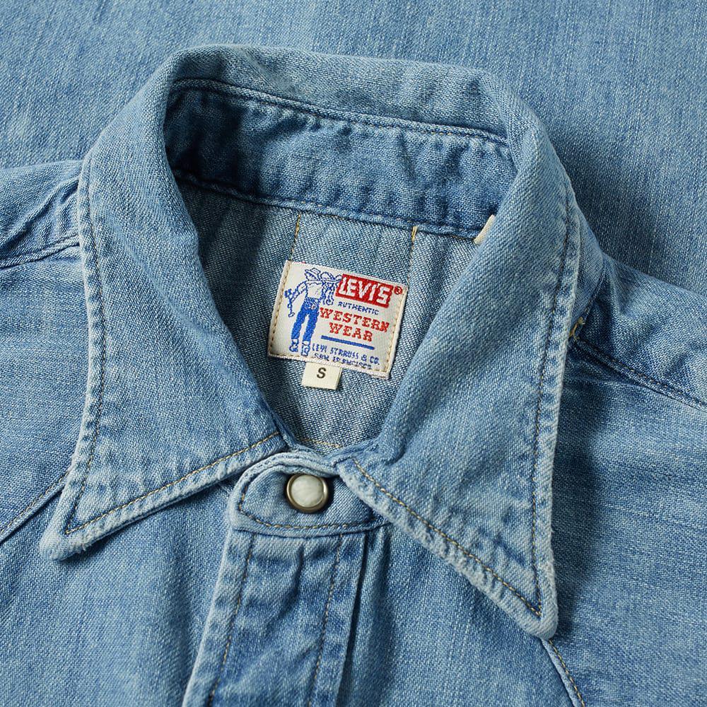 848b93ddaa Levi s - Blue Levi s Vintage Clothing 1955 Sawtooth Shirt for Men - Lyst.  View fullscreen